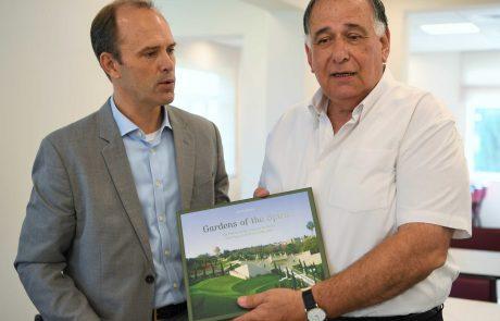 מרכז חדש לעולי רגל בהאים בחיפה