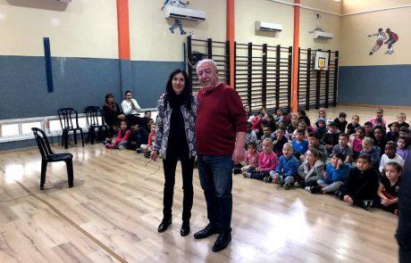 קרית ים: ראש העיר מקריא משירי חיים נחמן ביאליק