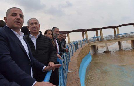 ראש העיר: ״נהריה לא יכולה לסבול יותר את המים שמגיעים ממזרח. נקודה״