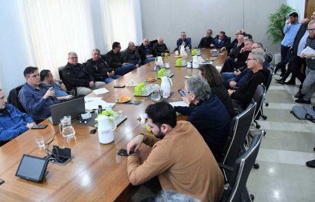 חיפה: הסופה חוזרת ומתחזקת!