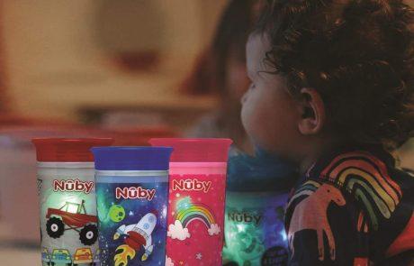 חדש לילדים: כוס הפלא עם אורות מהבהבים!