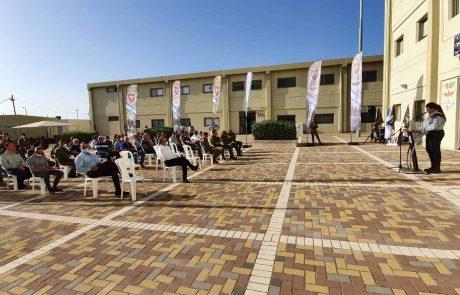 ראש עיריית עפולה השתתף בחנוכת המפקדה החדשה של חטיבת כפיר