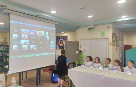 """קרית ים: תלמידים בשת""""פ עם משרד החוץ עסקו ב""""דיפלומטיה"""""""