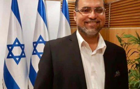 """פתיחת שנת הלימודים בביה""""ס בטמרה: הנפת דגל ישראל"""