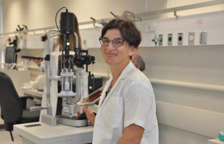 """ביה""""ח כרמל: ד""""ר עלוית וולף רופאה בכירה במחלקת עיניים נבחרהכיו""""ר החוג לרפואת עינייםילדים ופזילה בישראל"""
