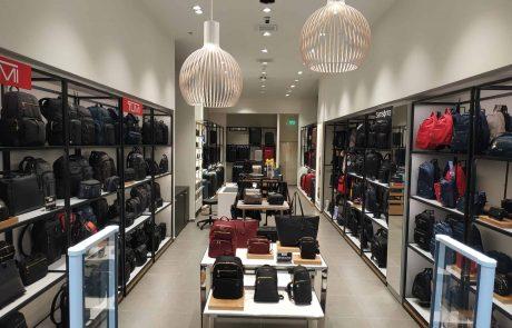 SAMSONITE (סמסונייט)  ו TUMI (טומי) פתחו חנות בקניון איילון ברמת גן