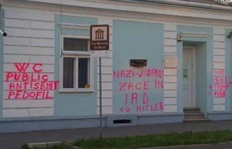 מעשה ונדליזם בבית ילדותו של אלי ויזל בעיר סיגט ברומניה