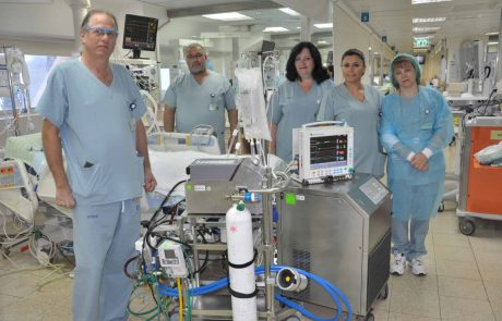 """מגפת החצבת: מכשיר האקמו שבביה""""ח כרמל מציל חיים"""