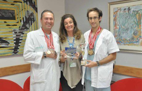 רופאי כרמל: הישגים בשחייה בספורטיאדה שהתקיימה באילת