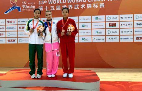 מדליית זהב לישראלית באליפות העולם באו-שו