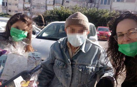 """חיפה: ביה""""ס """"חוגים"""" נרתם לסייע למשפחות בעיר שנפגעו ממשבר הקורונה"""