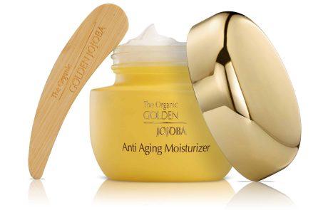 חדש מסדרת 'חוחובה זהב': קרם לחות אנטי אייג'ינג אורגני לעור הפנים