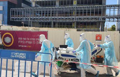 """רמב""""ם: נפתח ביה""""ח התת קרקעי לחולי קורונה"""