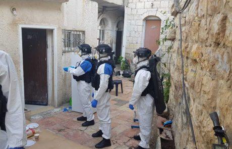 חולה קורונה מנתניה נעצר בשכונת מאה שערים