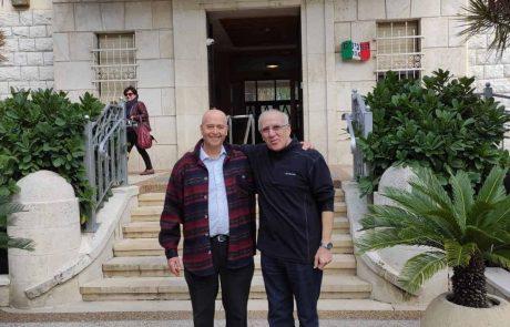 """חיפה: ה""""ספרדים""""פגשו את ה""""איטלקים"""""""
