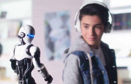 לילדים: הרובוט החכם בעולם!