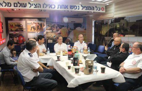 """ח""""כ פוקלמן :""""אזרחי מדינת ישראל מקבלים את שירותי החירום הטובים בעולם"""""""