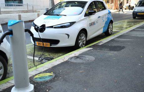 קרית ים: מיזם מכוניות חשמליות שיתופיות