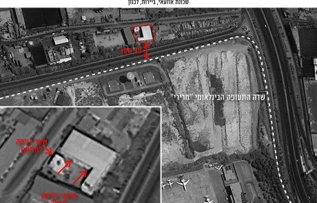 חשיפה ניסיון של חיזבאללה לבניית תשתית להסבת טילים למדוייקים בלב ביירות