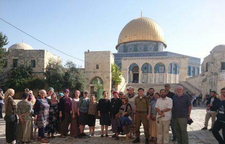 ירושלים: נמשכת מגמת העליה במספר היהודים שעולים להר הבית