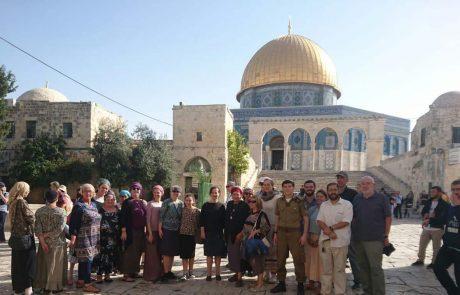 עלייה של 80% במספר היהודים שפקדו את הר הבית בחודש החולף