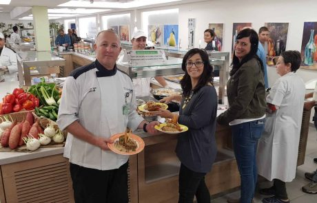 מרכז רפואי כרמל: בית חולים ירוק שמיישם יום ללא בשר