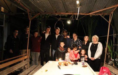 תלמידי ישיבת ההסדר ומשפחות הגרעין התורני ציוני האירו את נוף הגליל