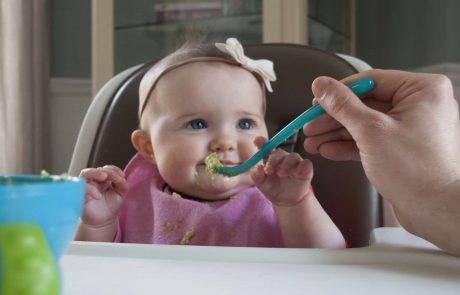 טיפים לשלב הטעימות הראשונות בקרב תינוקות !