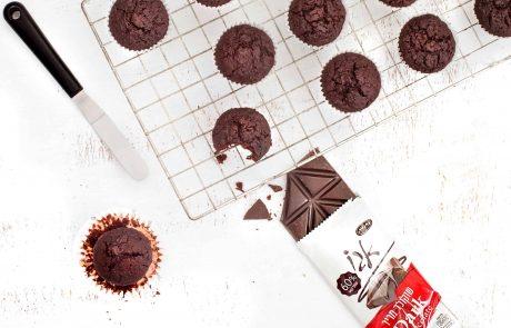 מתכון: מאפינס שוקולד וסלק