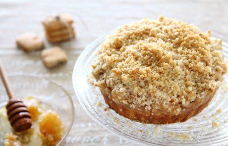 מתכון: עוגת תפוחים עם מיני קוקיס קרמל