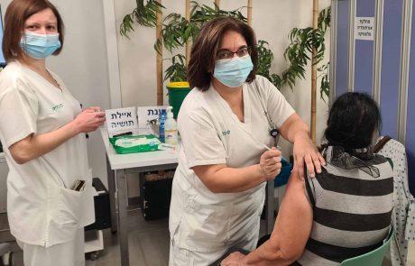 """בביה""""ח כרמל נפתח מתחם חיסוני קורונה למבוטחי הכללית"""