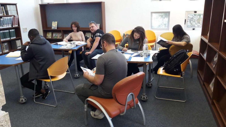 קרית ים:  הספרייה העירונית הפכה לספריה האקדמית של הסטודנטים בקריות