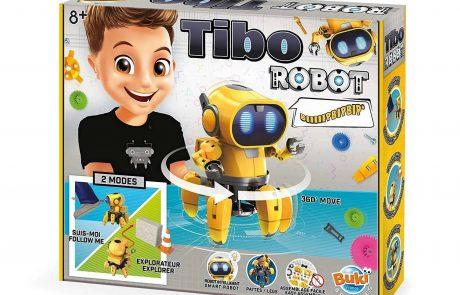 לחנוכה: רובוט משוכלל לילדים בהרכבה עצמית!