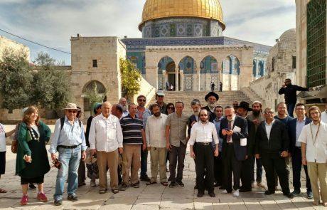 יותר מארבע מאות יהודים עלו השבוע להר הבית