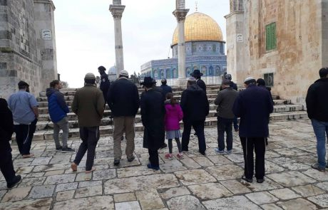 הר הבית : יהודים עלו תחת אבטחה כבדה של שוטרים