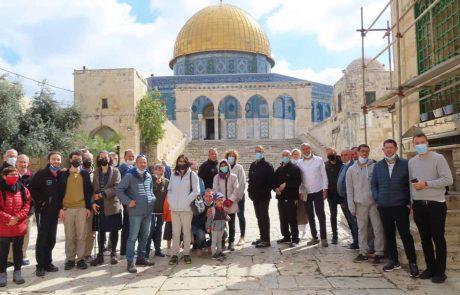 """הר הבית: 2,600 עולים יהודים בחול המועד פסח והירדנים """"זועמים""""…"""