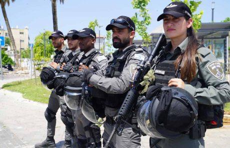 """לוד: כוחות מג""""ב ועוצר לילי…"""