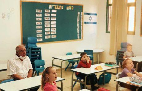 קריית ים: התלמידים הצביעו ברגליים והתייצבו ליום הלימודים הראשון