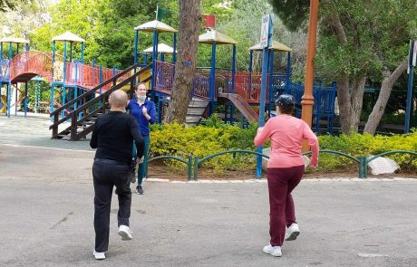 חיפה: פעילות ספורט מודרכת לגיל השלישי