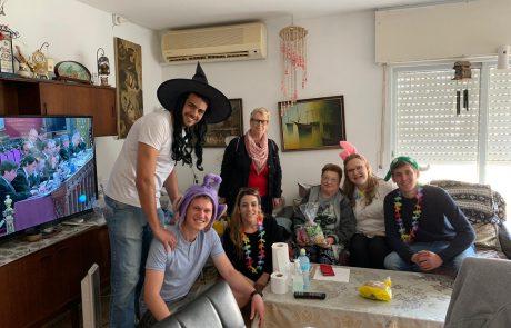 נצרת עלית: חגיגות פורים לילדים ולקשישים