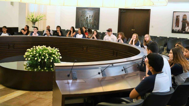 חיפה: הנוער תפס את השלטון בעיר ליום אחד