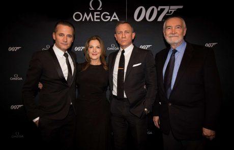 אומגה השיקה את השעון החדש של ג'יימס בונד בהקרנת בכורה