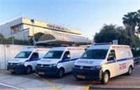 פינוי מאושפזים ממרכז רפואי בגדרה בעקבות איום הטילים מעזה
