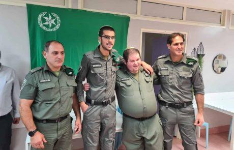 """מפקדי מג""""ב עם בוגרי ארגון """"שלוה"""""""