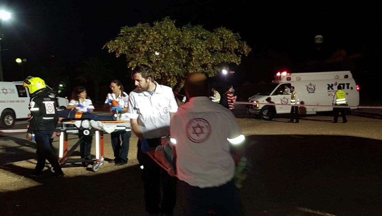 """מד""""א בתל אביב תירגלו אירוע רב נפגעים"""