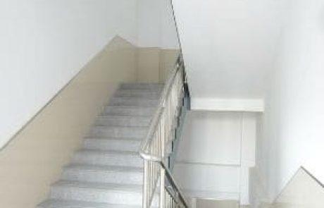 טיפים לצביעת חדר המדרגות בבניין