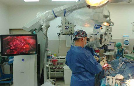 """רמב""""ם: ניתוחי מוח במיקרוסקופ הכירורגי המתקדם בעולם"""