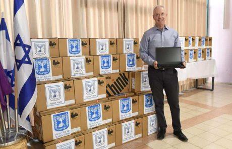 משרד החינוך: מאות מחשבים ניידים חולקו לתלמידים בנוף הגליל