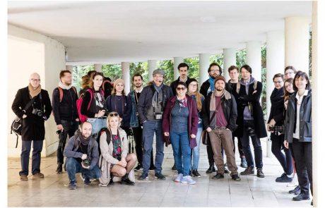 משלחת  מאוניברסיטת הבאוהאוס בגרמניה בוחנת את השפעת האדריכלות הבינלאומית בחיפה