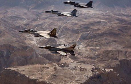 מכת מנע ישראלית למצבורי טילים איראניים בסוריה
